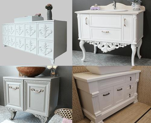 Мебели от ПВЦ - Луксозни мебели за баня от Emax.