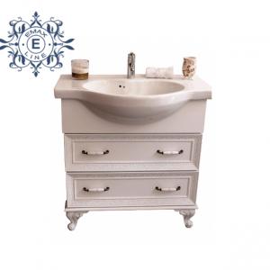Модел Хармония – ретро шкаф за баня с мивка