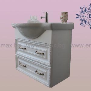 Модел Хармония - ретро шкаф за баня с мивка