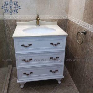 Ретро шкаф за баня Хармони - Мебели за баня Emax