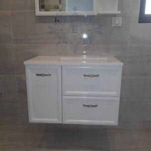 Шкаф за баня с мивка