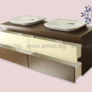 Шкаф за баня с две мивки София Варна Пловдив