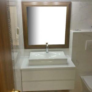 Шкаф с мивка - Водоустойчиви мебели за баня