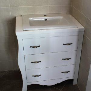 Шкаф с мивка - Мивки за баня с шкаф