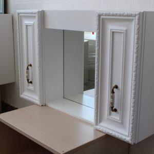 Горен шкаф за баня - Мебели за баня