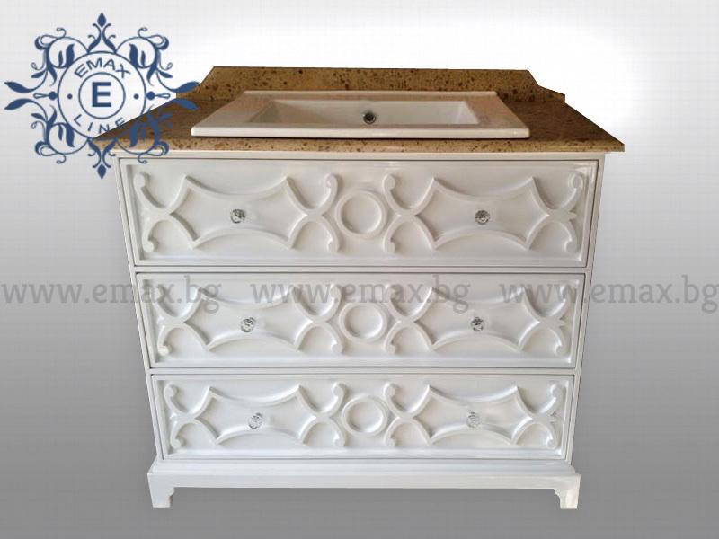 Шкаф за баня Ретро - Мебели за баня Емакс