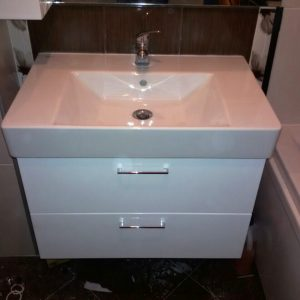 Шкаф с мивка - Мебели за баня София