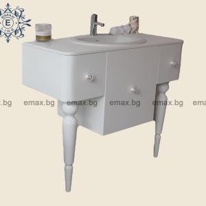 Шкаф за баня с мивка - Мебели за баня Варна