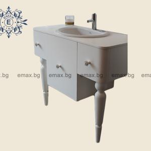 Шкаф за баня с мивка - Мебели за баня