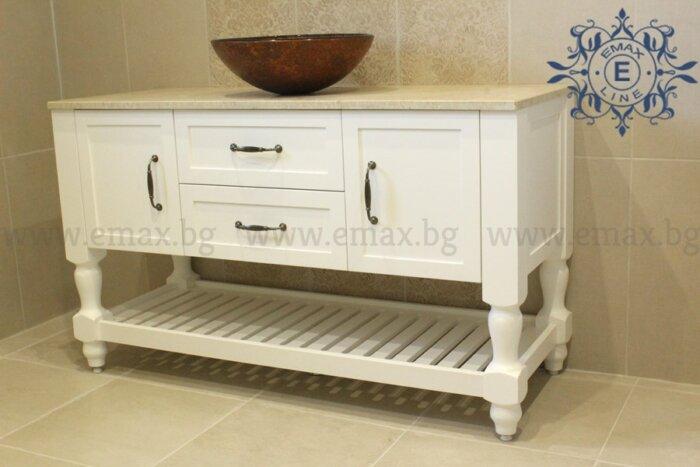 Шкаф за баня мивка - Модел Соренто - Мебели за баня