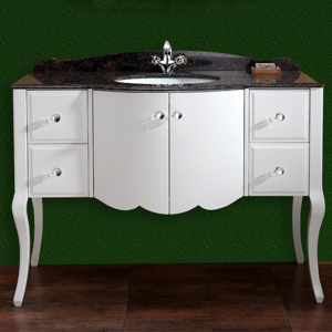 Модел Бела – шкаф за баня - Мебели за баня Шумен от Emax.