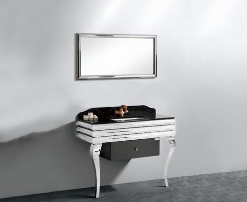 Шкаф за баня Бижу - Мебели за баня Варна