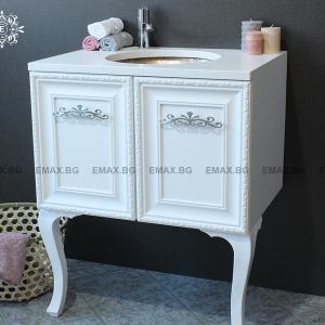 Модел Класик – ретро шкаф за баня с мивка Варна Emax.
