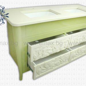 Модел Фиоре – Водоустойчиви мебели за баня от Емакс