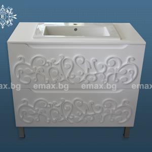 Модел Орнамент – ПВЦ шкаф за баня - Мебели за баня