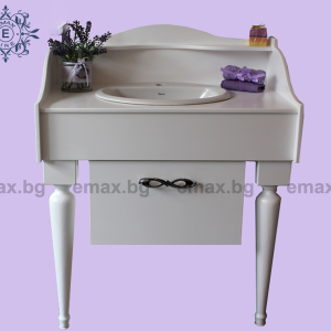Модел Пиано – луксозен шкаф за баня - Луксозни мебели за баня Emax.