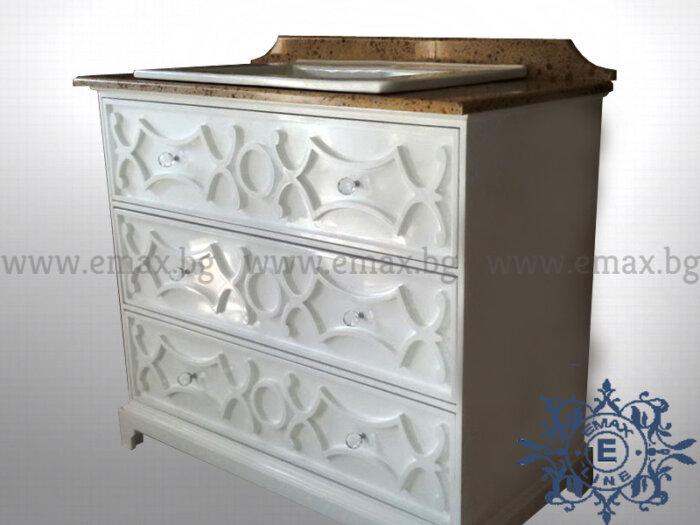 Модел Ретро – шкаф с мивка - Шкафове за баня Emax