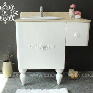 Романи – водоустойчив ПВЦ шкаф с мивка 90 см