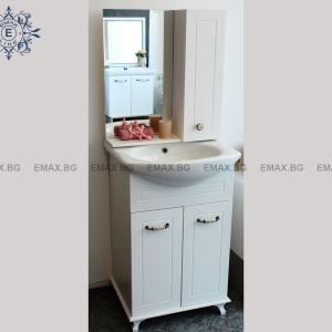 Шкаф с мивка Романтик - Шкаф за баня с мивка
