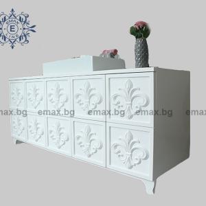 Модел Сиена – водоустойчив ПВЦ шкаф за баня 180 см