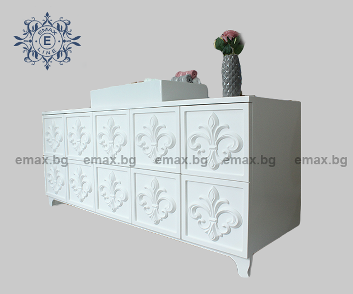 Мебели за баня шкаф за баня пвц
