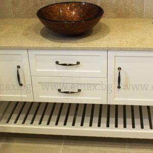 Шкаф за баня мивка - Модел Соренто - Шкаф за баня Емакс