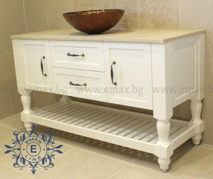 Шкаф за баня мивка
