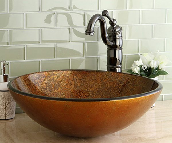 Мивка Старо злато - Мебели за баня Варна