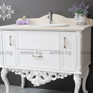 Шкаф за баня Венеция - Мебели за баня Варна Emax