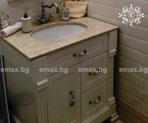 Мебели за баня по индивидуален дизайн от PVC от Емакс