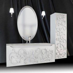 Мебели за баня по индивидуален дизайн от PVC от Emax Варна