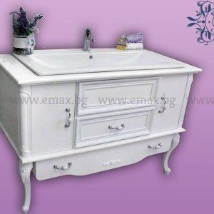 Модел Венеция Гранде – бутиков ПВЦ шкаф за баня с мивка 130 см