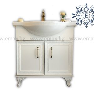 Хармония 2 - водоустойчив ПВЦ шкаф за баня с врати 87 см