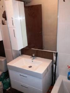 Висящ шкаф за баня от ПВЦ