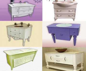 мивки за мебели за баня