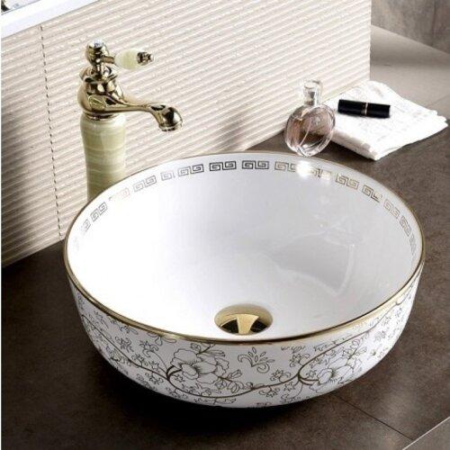 мивка за баня ICB-875 GOLD FLOWER
