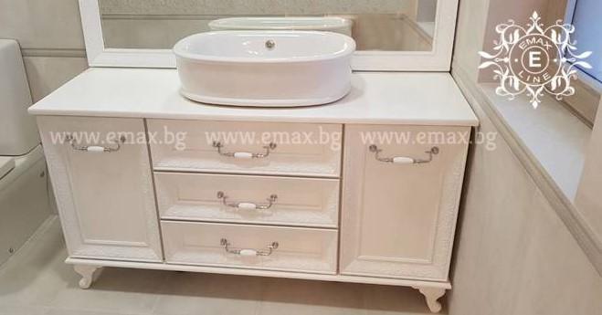 италиански мебели за баня пвц