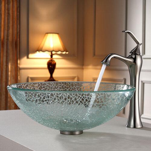 мивка начупено стъкло