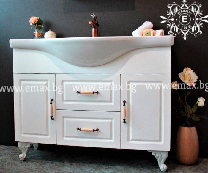 голям пвц шкаф за баня с мивка