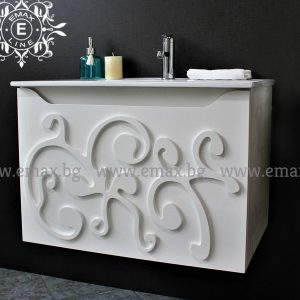 Орнамент – водоустойчив ПВЦ шкаф  60 см