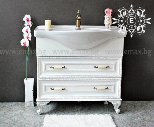 Ретро шкаф за баня с мивка Хармония