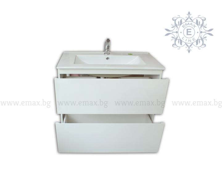 конзолен шкаф за баня пвц