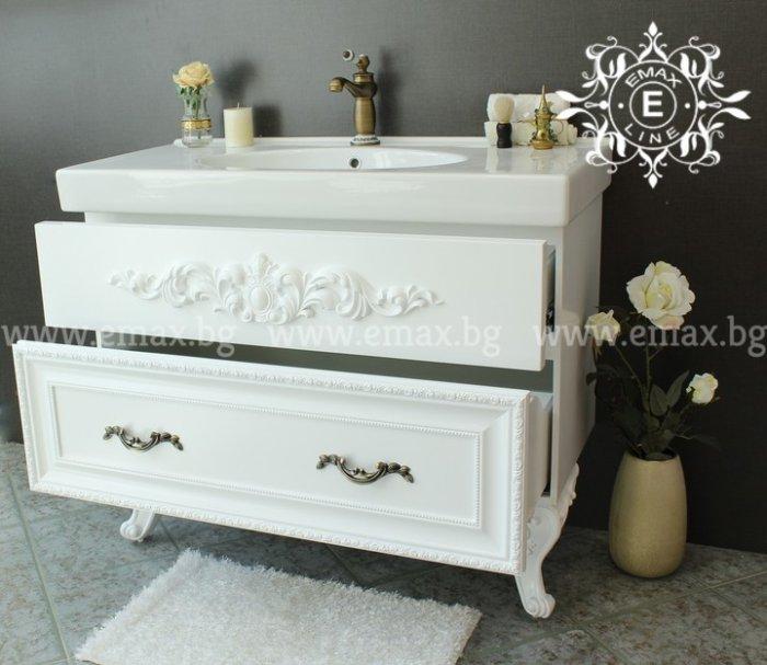 италиански мебели за баня от pvc