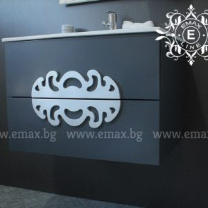 Медальон – водоустойчив ПВЦ шкаф с мивка 60 см