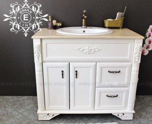 Класически пвц долен шкаф за баня