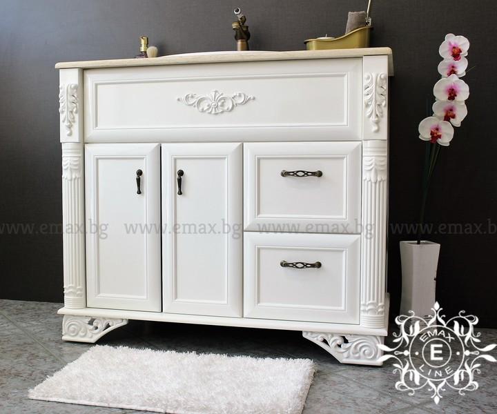 Италиански шкаф за баня пвц с мивка