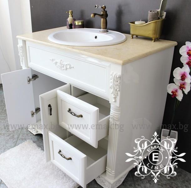 шкаф за баня стил