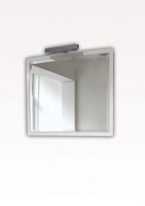 Огледало с ПВЦ гръб и лед осветление 60 см
