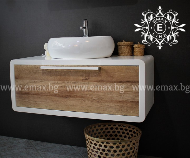 Модерен ПВЦ шкаф за баня