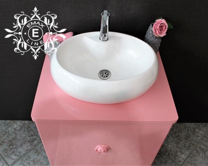 долен шкаф за баня с мивка купа